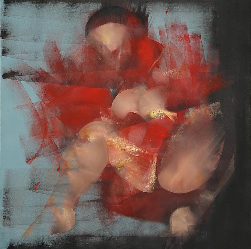 obraz olejny na płótnie Weronika Pawłowska