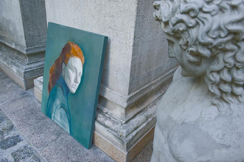 wisdok na obraz Weroniki Pawłowskiej wystawa
