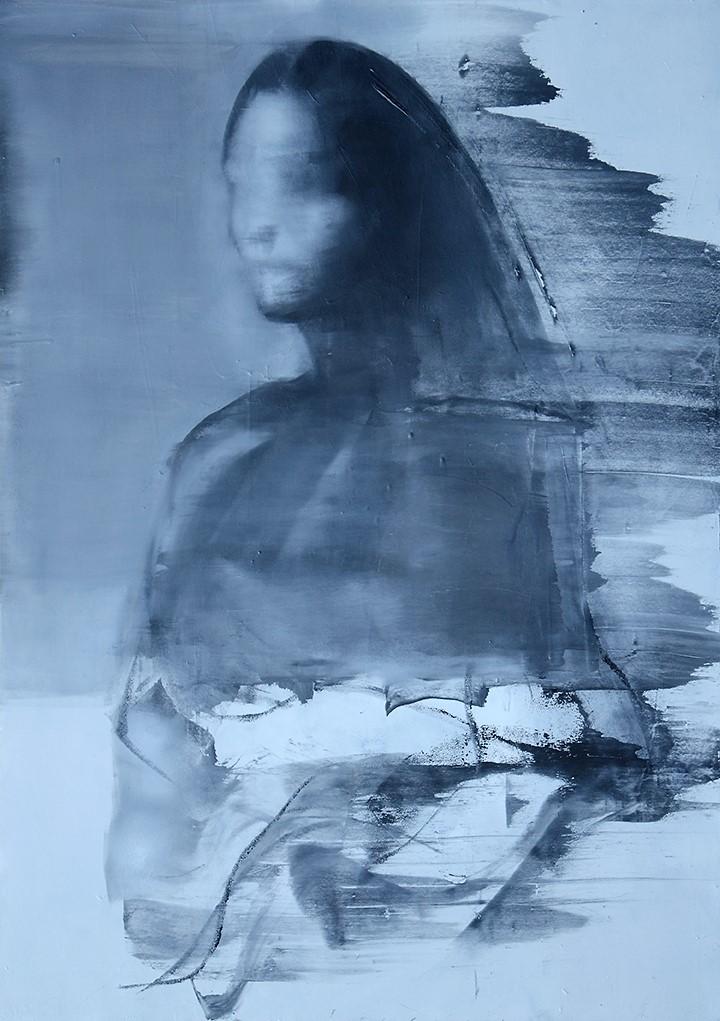 tajemniczy portret kobiety na płycie Weroniki Pawłowskiej
