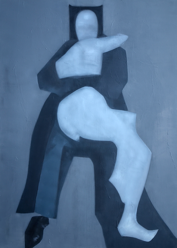 olejny obraz na płycie Weroniki Pawłowskiej
