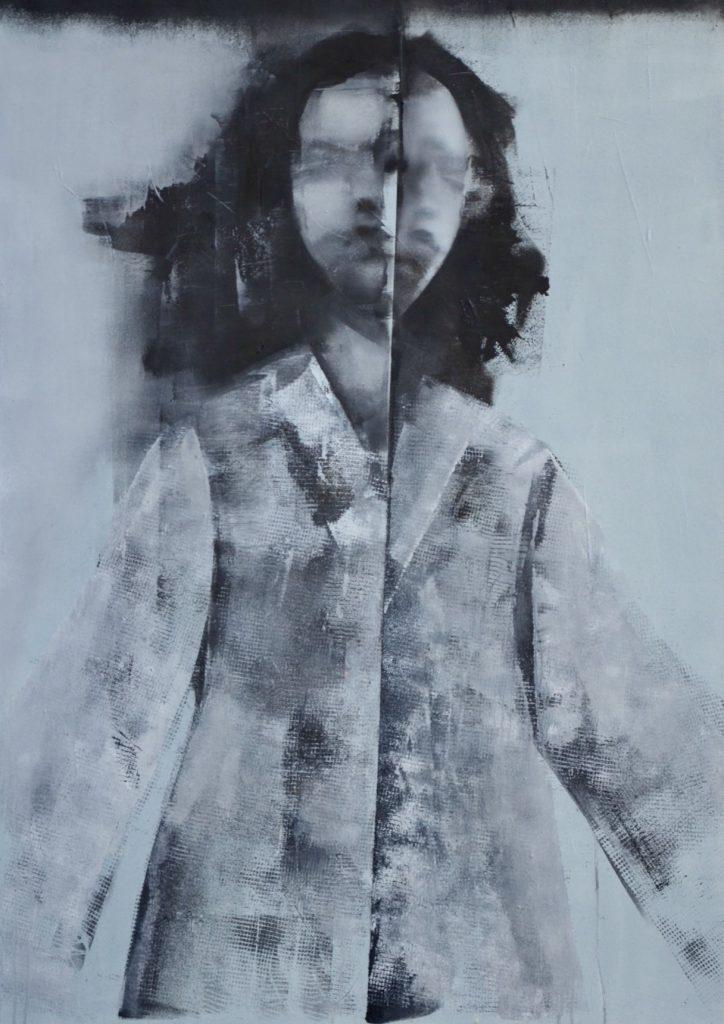 podwójny portret na płycie Weronika Pawłowska