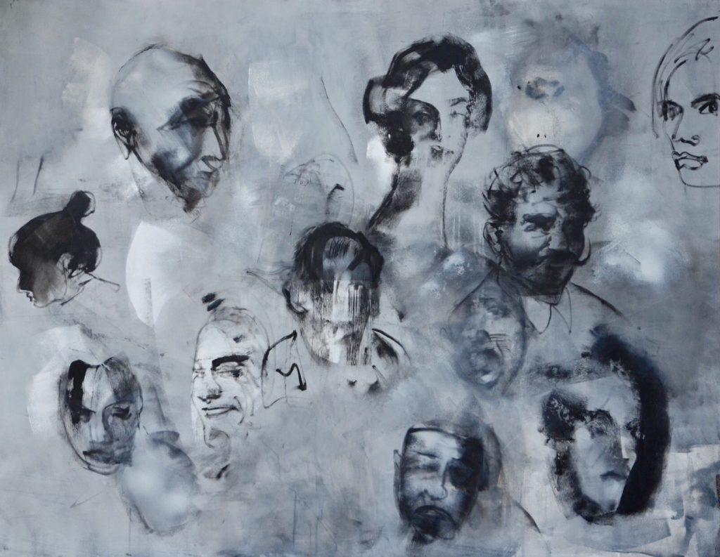 portret zbiorowy na płycie Weronika Pawłowska