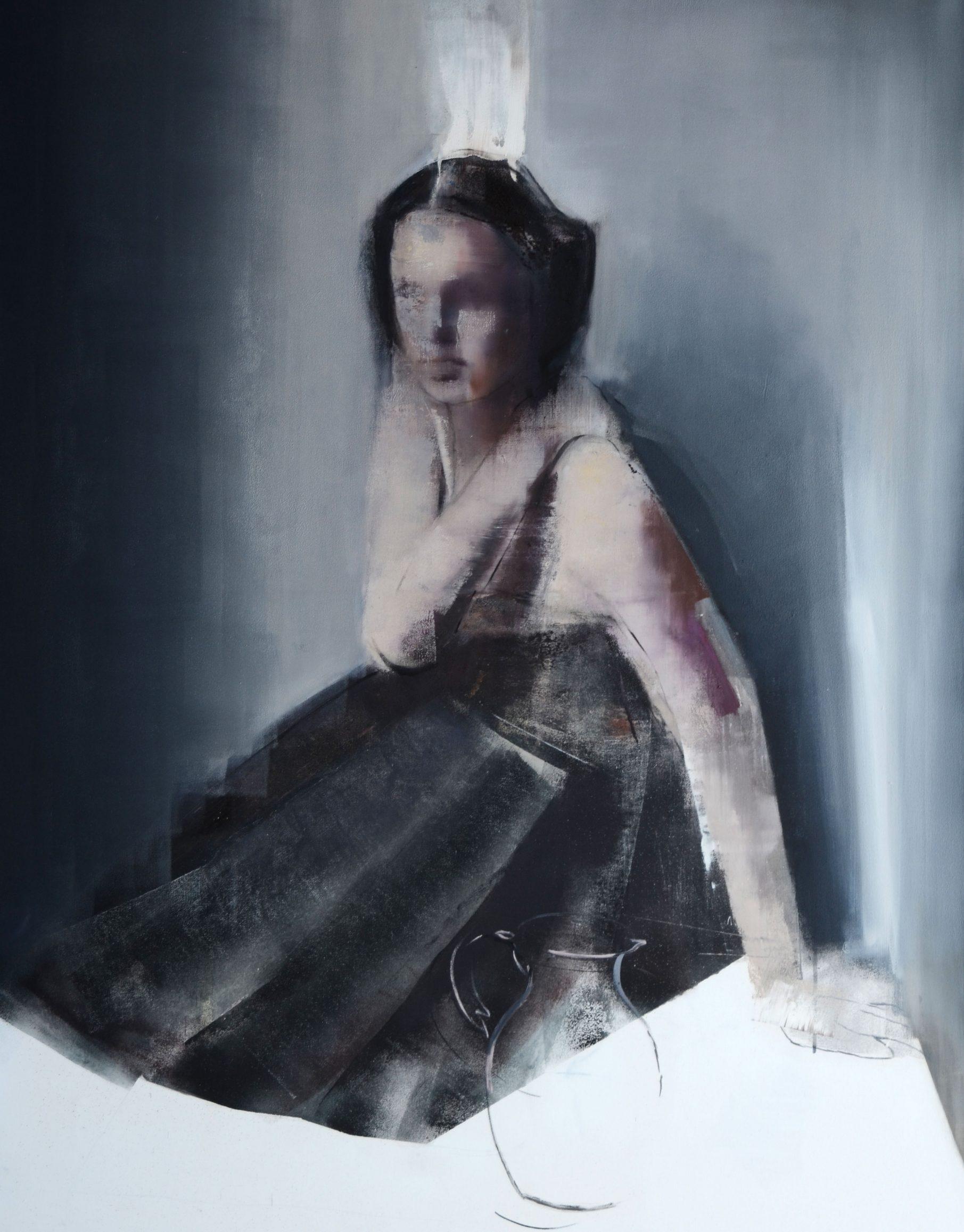 She/ Ona, 140 x 100 cm, oil on canvas, 2018